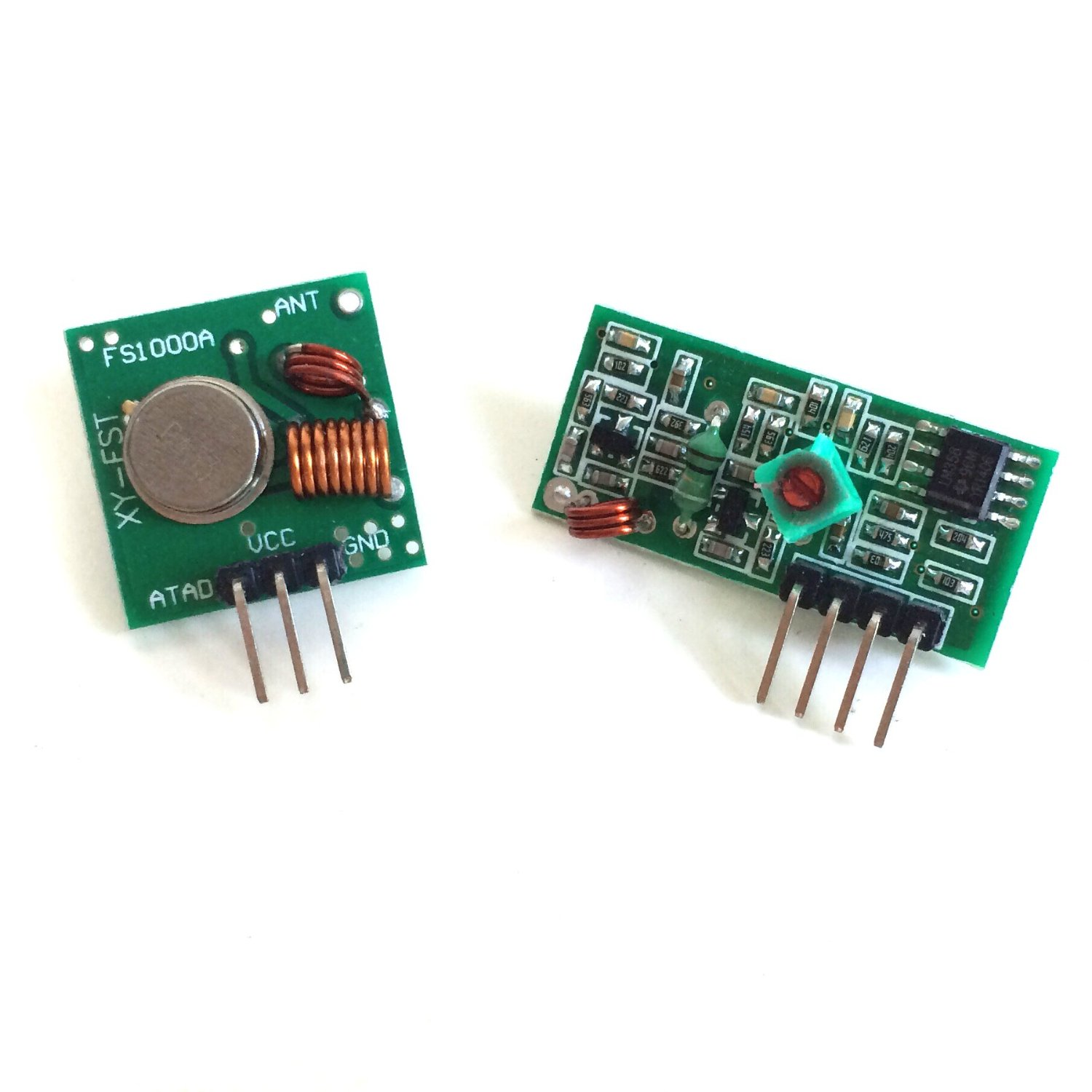 Let Raspberry Pi S Communicate With Each Other Per 433mhz