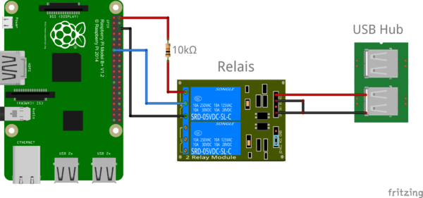 Raspberry Pi Control Relay Switch Via Gpio