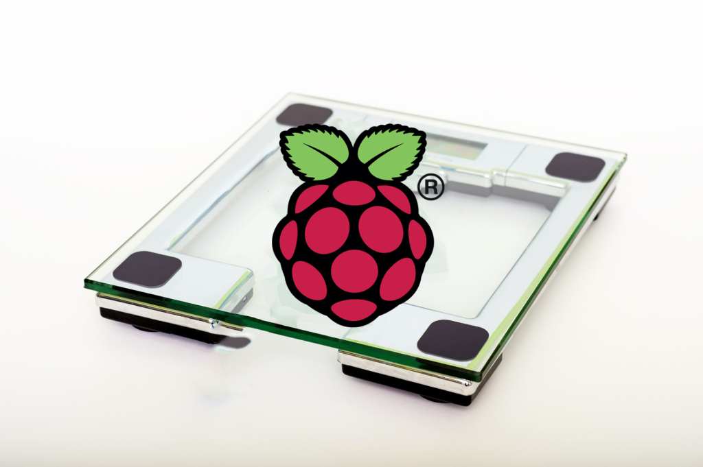 Build a digital Raspberry Pi Scale (with Weight Sensor HX711)