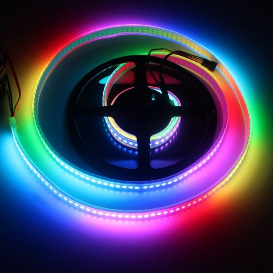 Connect and Control WS2812 RGB LED Strips via Raspberry Pi