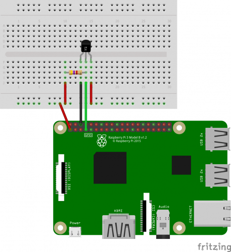 Measuring Temperature with a Raspberry Pi Temperature Sensor (1-Wire)